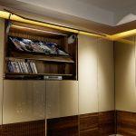 шкаф купе с подсветкой виды декора