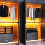шкаф купе с подсветкой фото вариантов