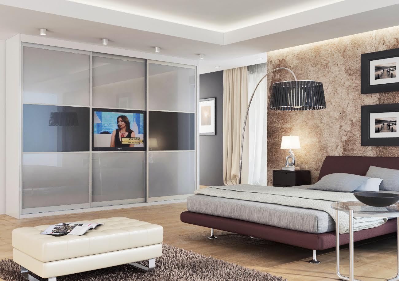 шкаф купе с телевизором дизайн