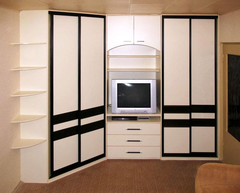 шкаф купе с телевизором фото идеи