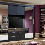 шкаф купе с телевизором идеи дизайн