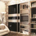 шкаф купе с телевизором идеи декор