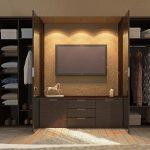шкаф купе с телевизором фото дизайна