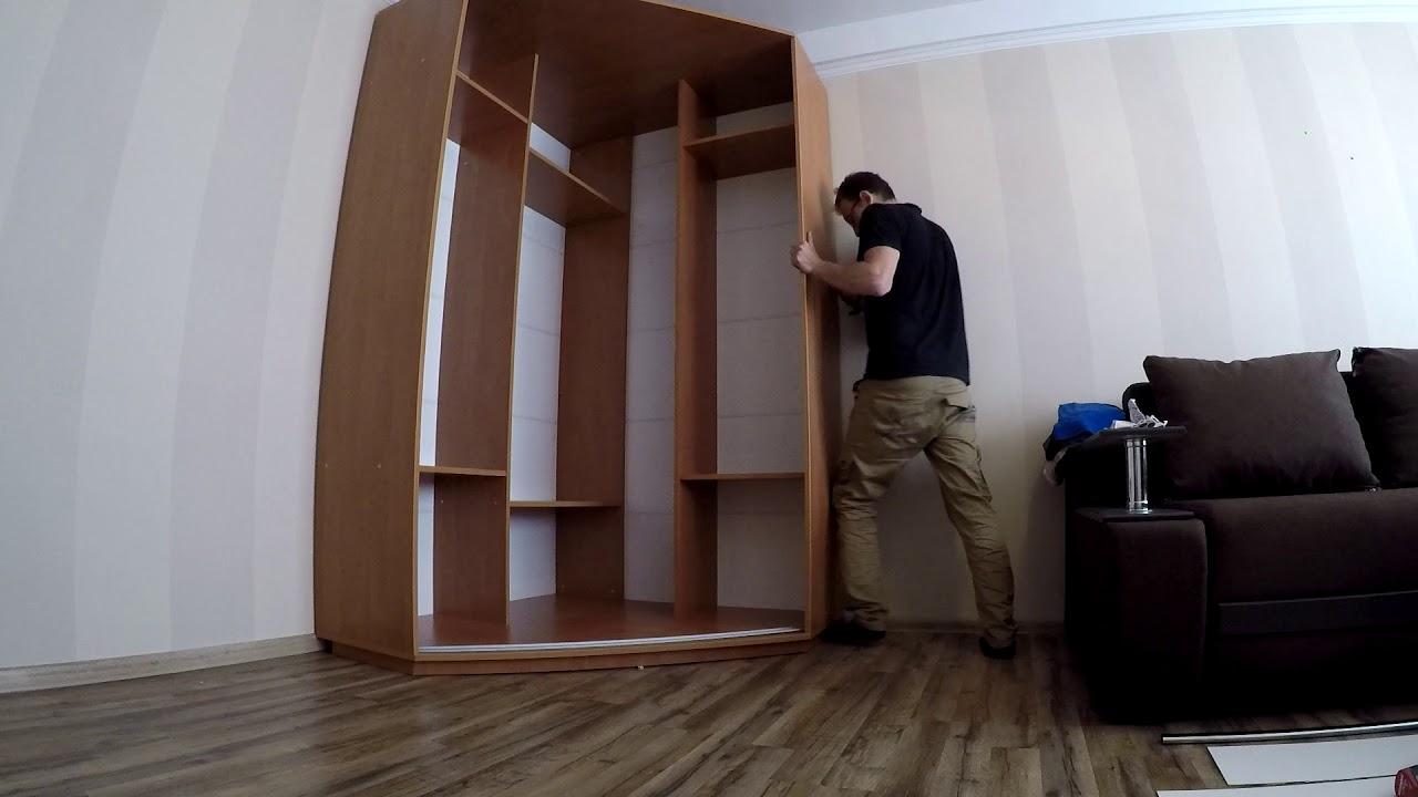сборке шкафа