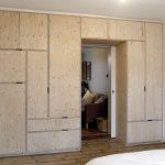 шкаф вокруг двери идеи интерьер