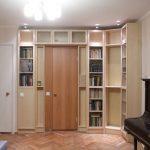 шкаф вокруг двери виды дизайна