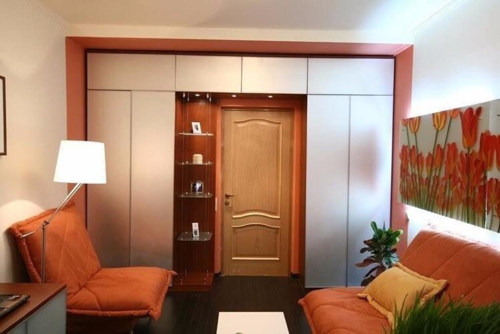 шкаф вокруг дверного проёма фото дизайна