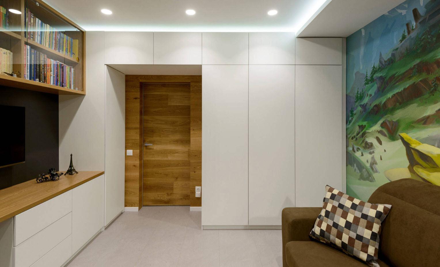 шкаф вокруг дверного проёма идеи оформление