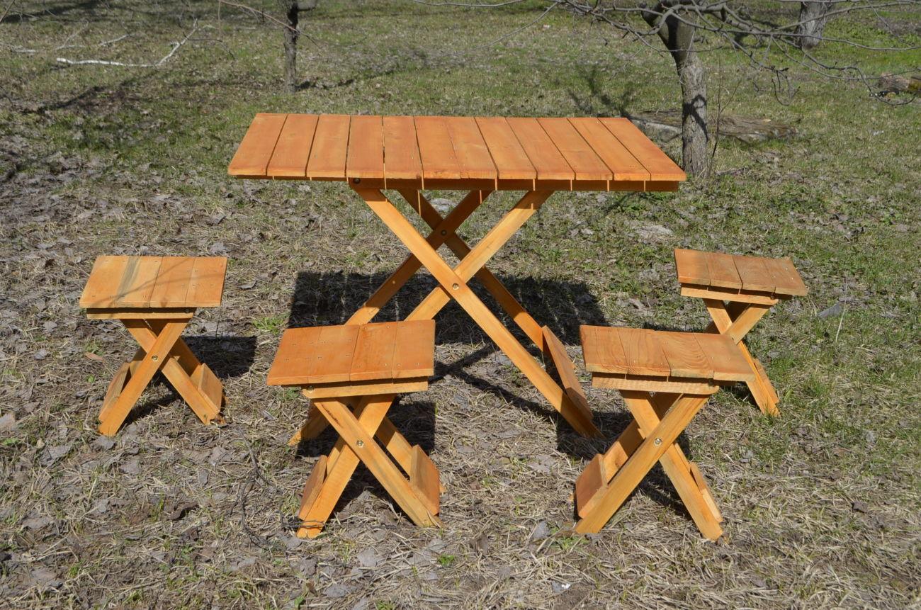 размеры складного стола
