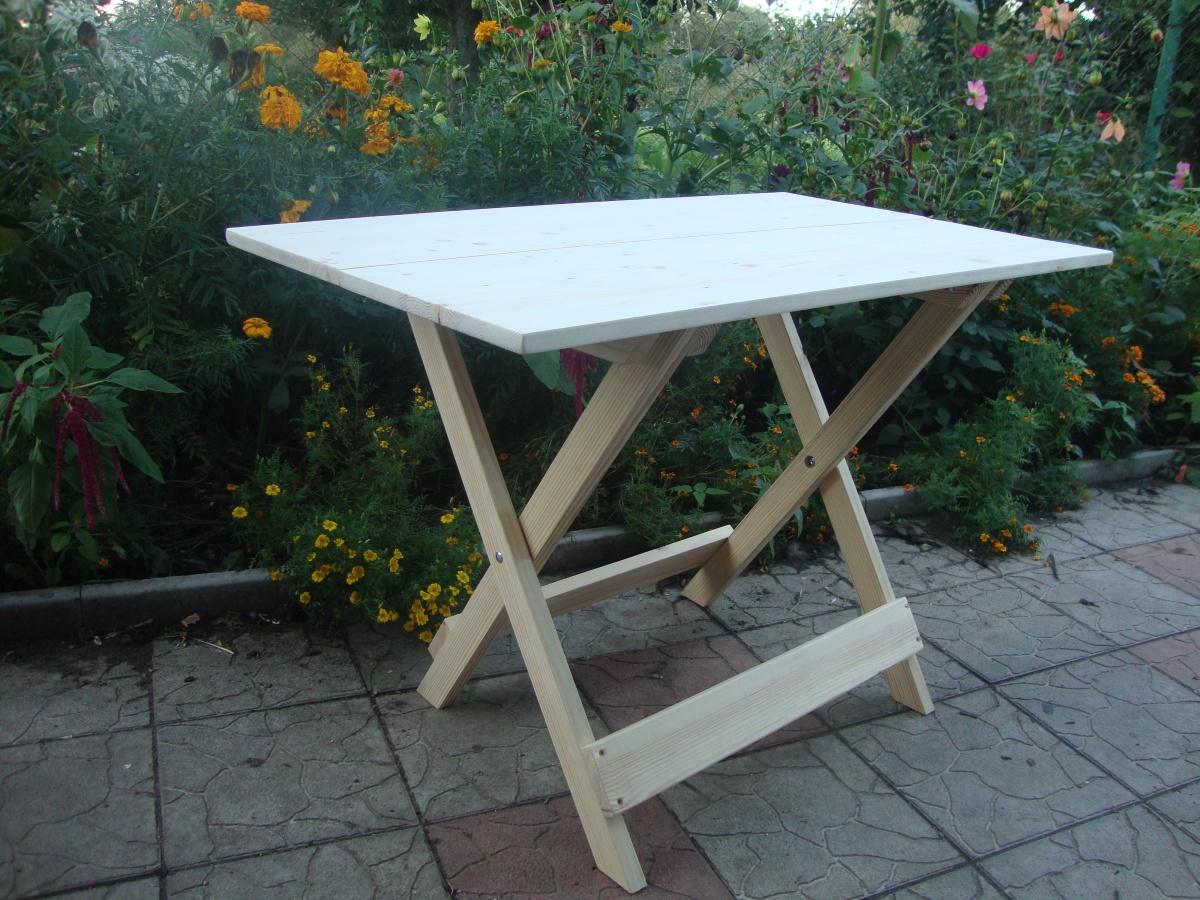 простой столик для пикника