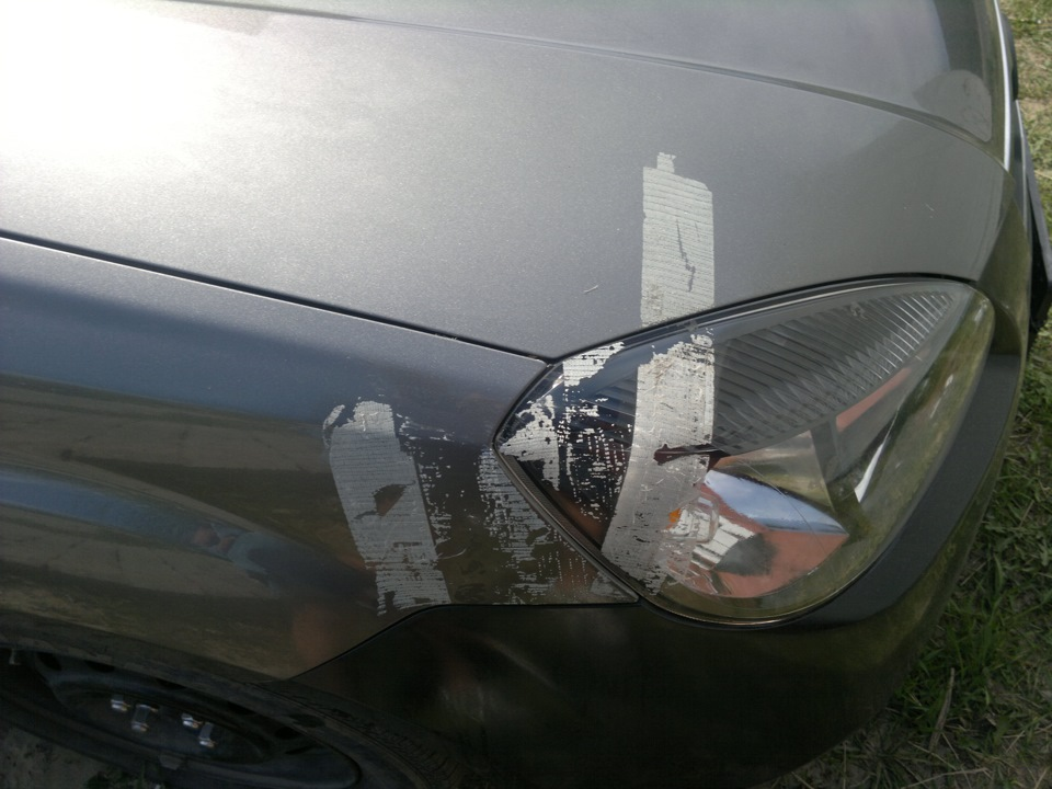 скотч на автомобиле