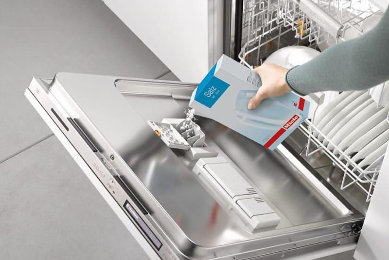 соль в посудомоечную машину