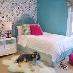 сочетание цветов в дизайне комнаты для девушки подростка