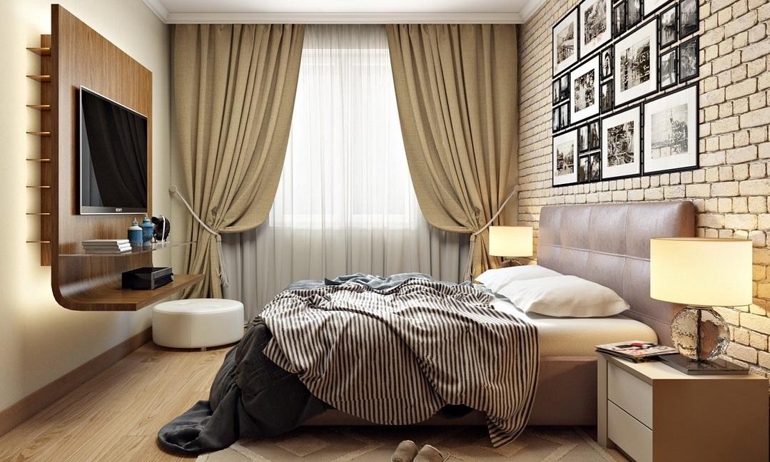 спальня 12 кв м декор