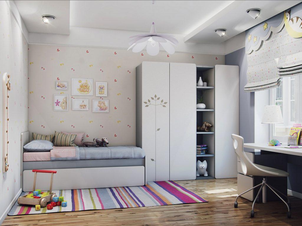 спальня 12 кв м детская