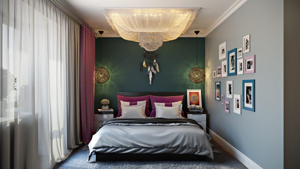 спальня 12 кв м идеи фото
