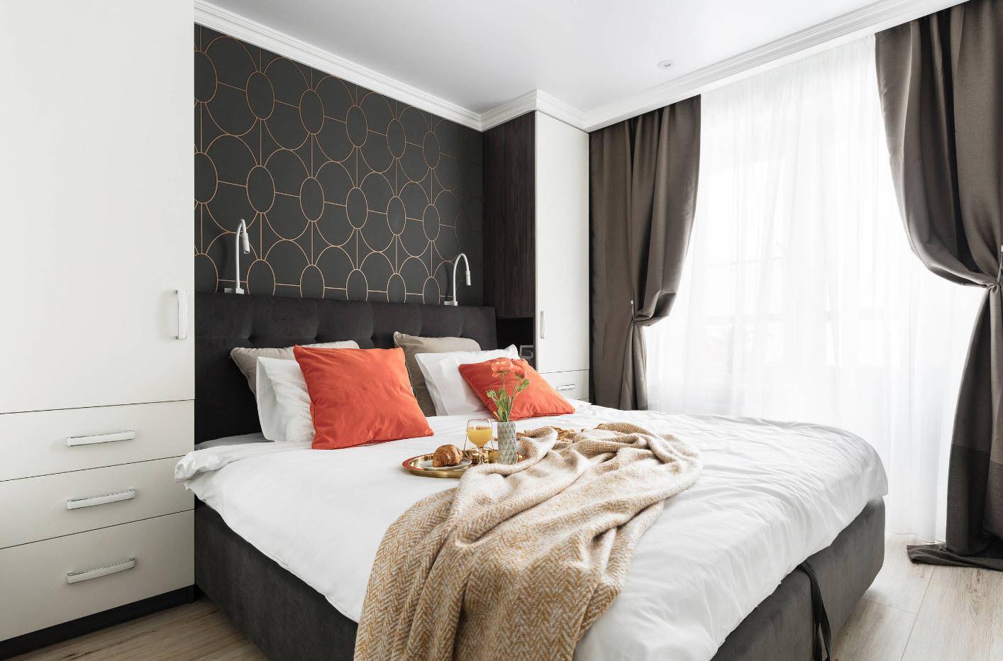 спальня 12 кв м современная
