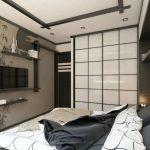 спальня 12 кв м японская