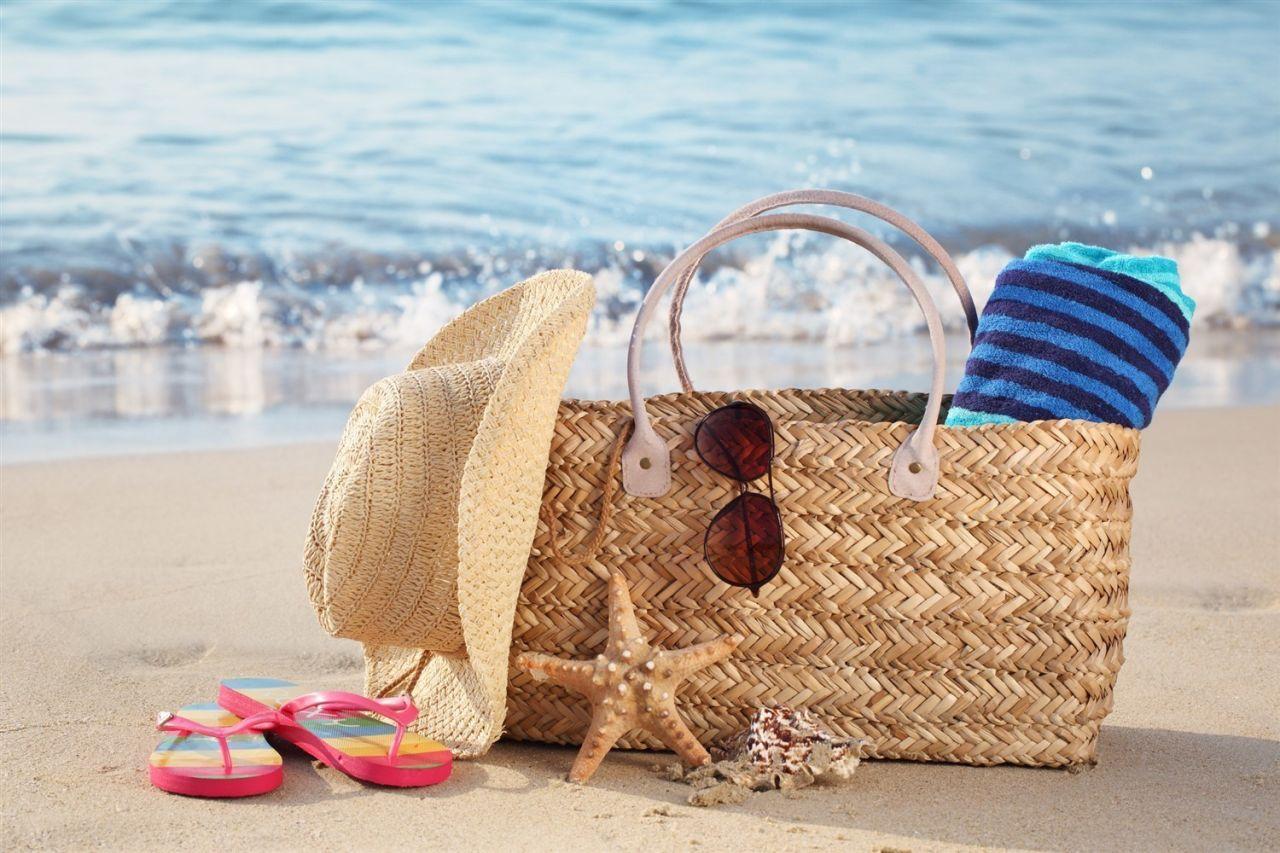 пляжная сумка для моря