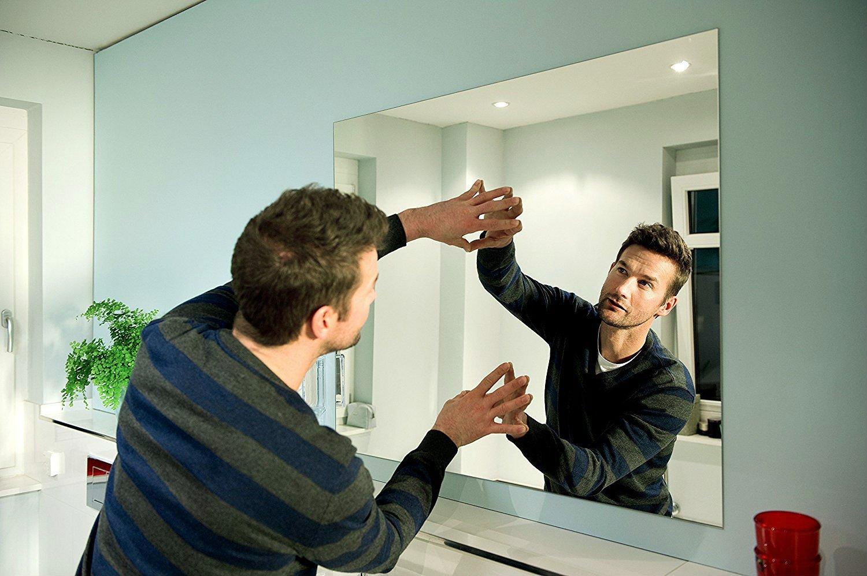 закрепить зеркало