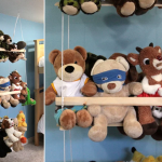 стеллаж для игрушек в детскую