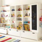 стеллаж для игрушек в детскую идеи фото