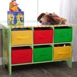 стеллаж для игрушек в детскую дизайн