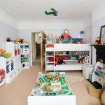 стеллаж для игрушек в детскую дизайн идеи