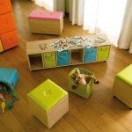 стеллаж для игрушек в детскую фото оформление