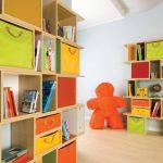 стеллаж для игрушек в детскую идеи оформление