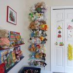 стеллаж для игрушек в детскую идеи оформления