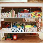 стеллаж для игрушек в детскую варианты фото