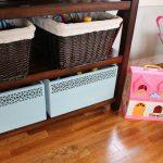 стеллаж для игрушек в детскую идеи варианты