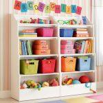 стеллаж для игрушек в детскую виды идеи