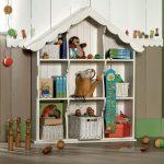 стеллаж для игрушек в детскую идеи виды