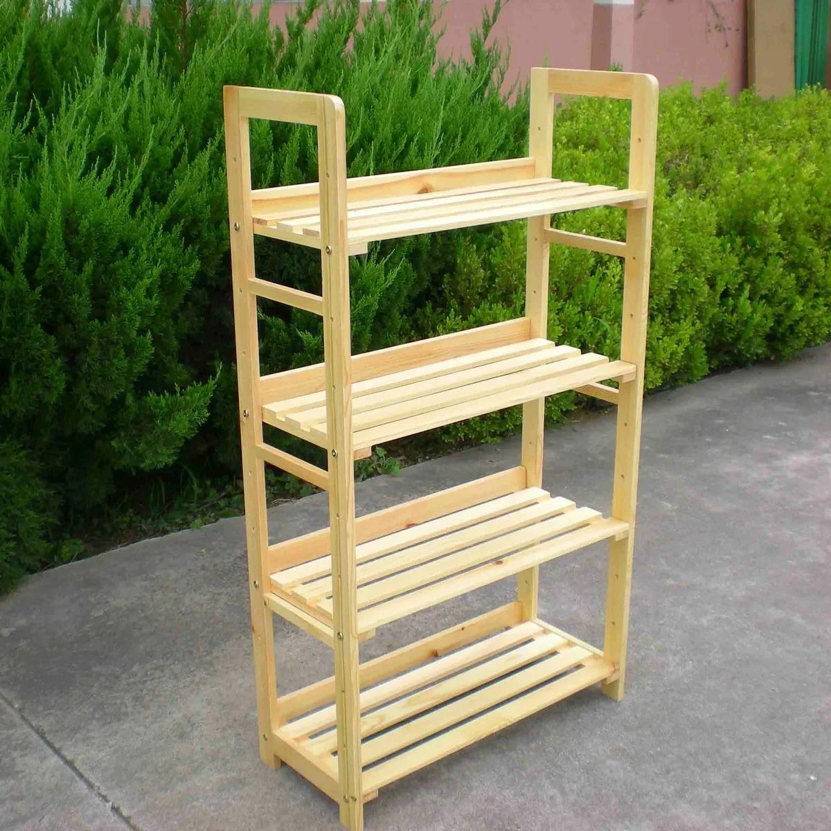 стеллаж для рассады деревянный
