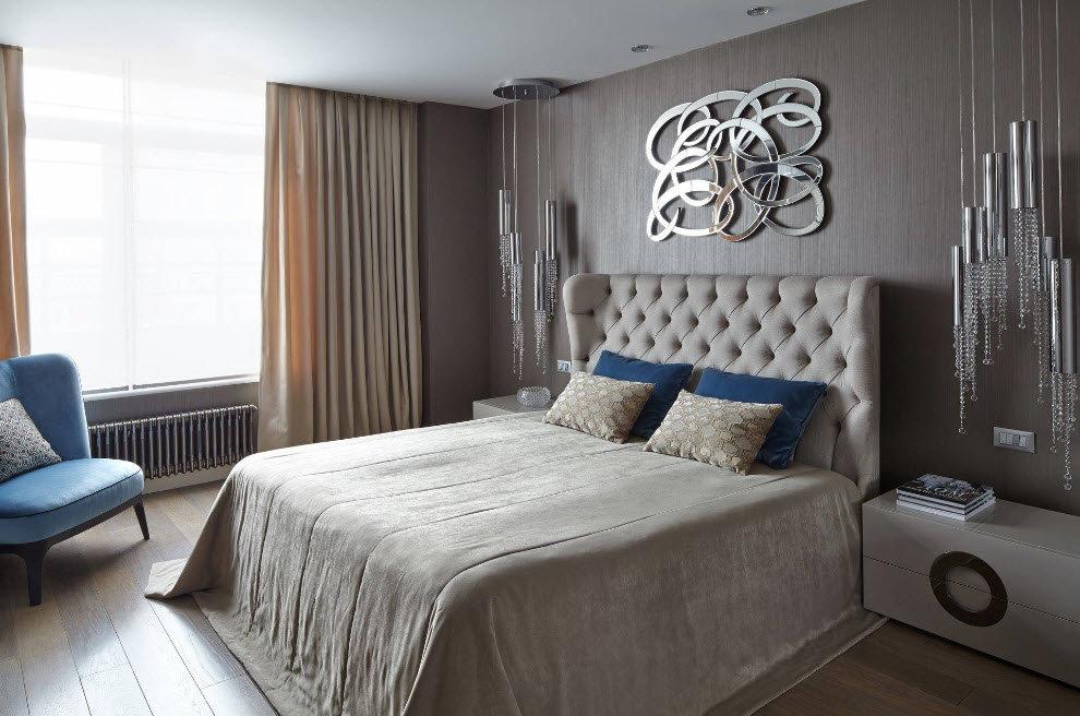 юморные оформление зоны кровати в спальне фото лабрадоров