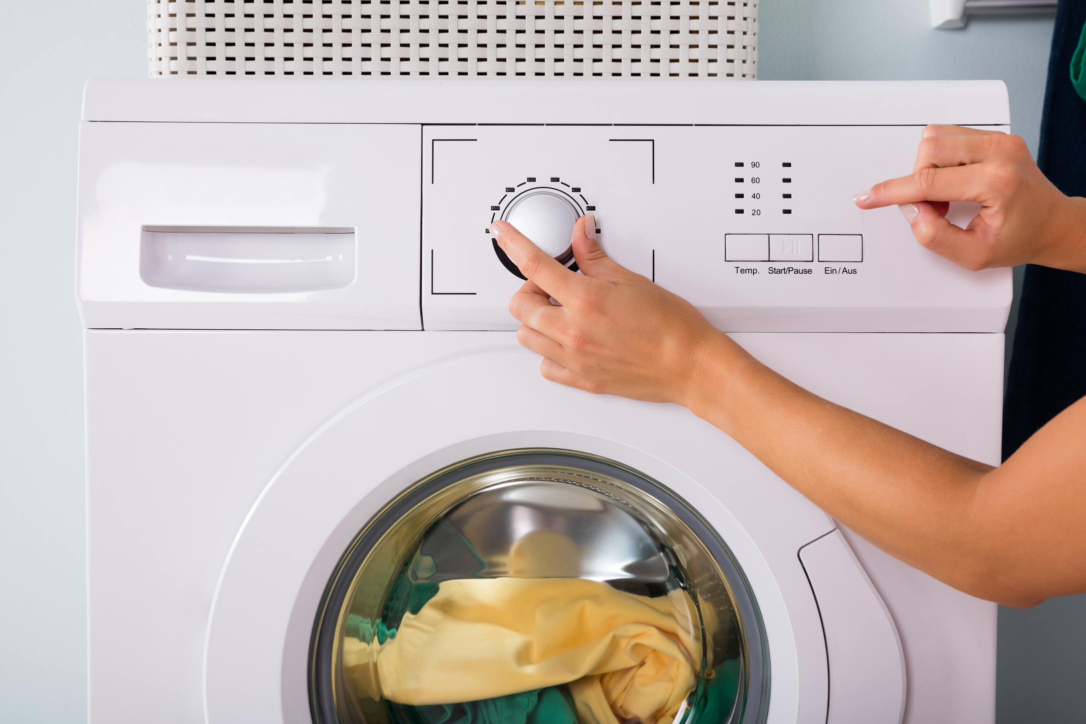 стирка в стиральных машинах