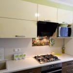 плита в столешнице для кухни