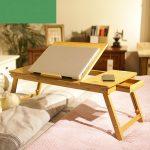 столик для ноутбука декор