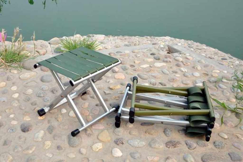 стул для рыбалки металлический
