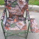 стул для рыбалки виды