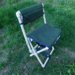 стул для рыбалки из труб пвх