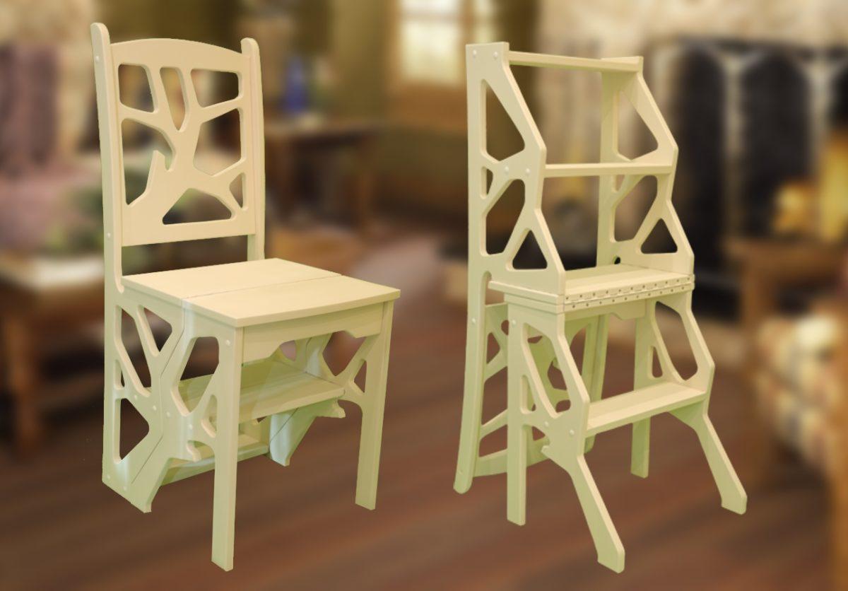 креатив при сборке стула