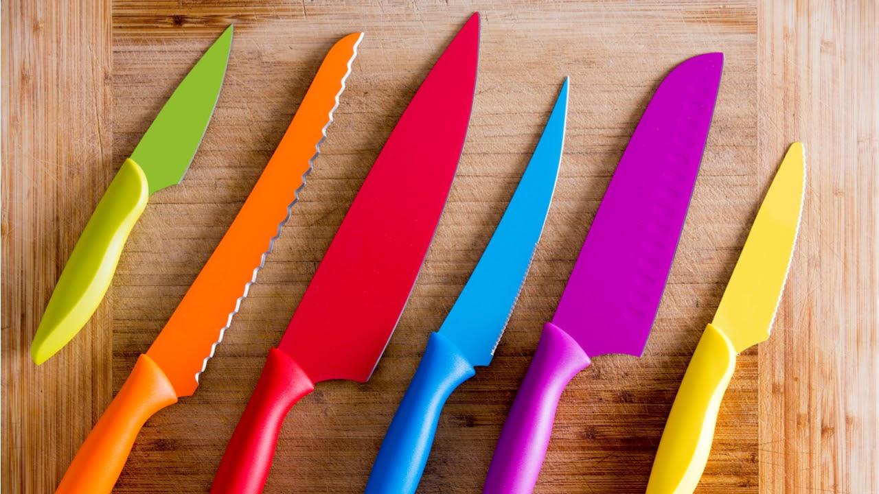 заточить кухонный нож