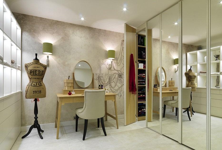 туалетный столик с зеркалом дизайн идеи