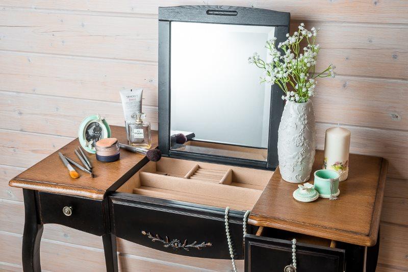 туалетный столик с зеркалом фото