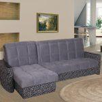 диван угловой с узором