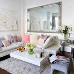 диван угловой с цветами