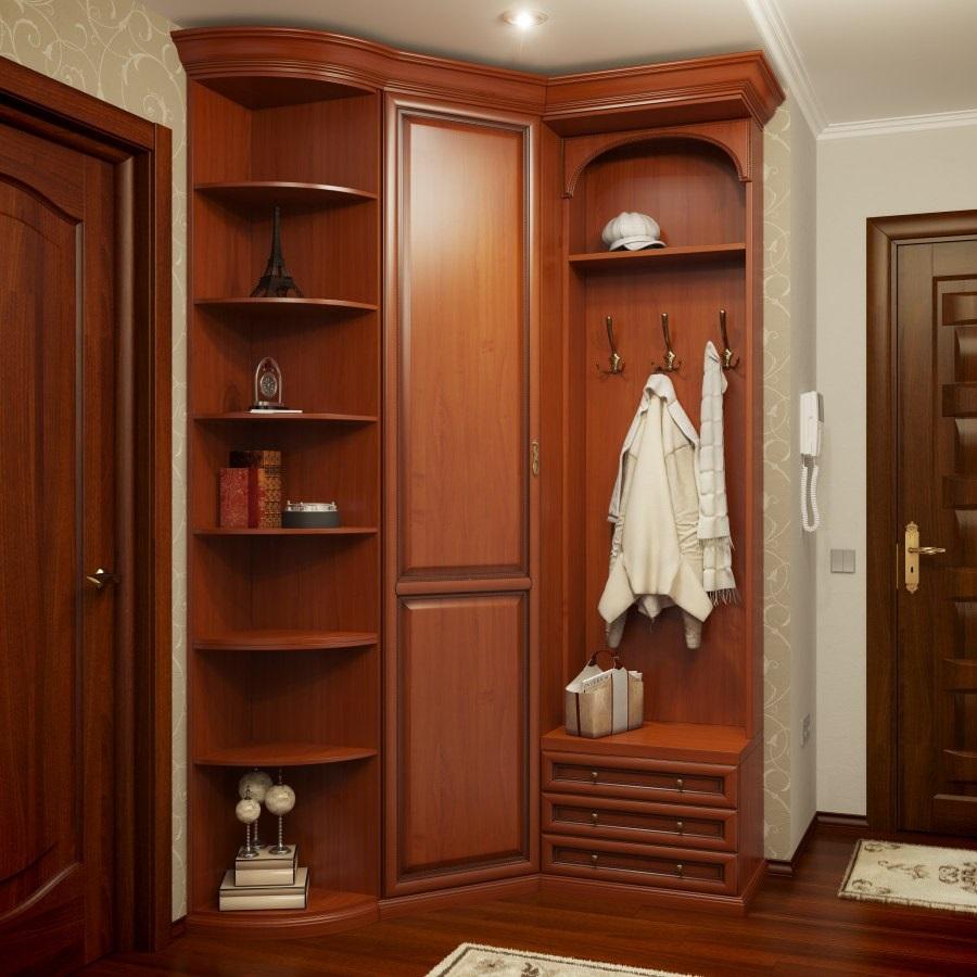 шкаф в интерьере прихожей